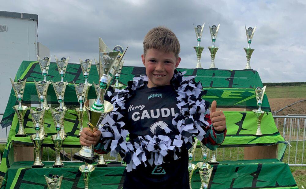 Harry Caudle Y8 Motocross Success - News - Pittville School