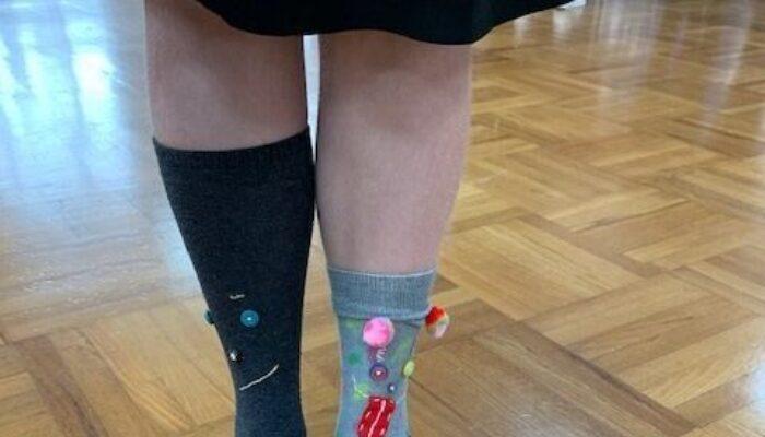 Odd Socks Day - Pittville School