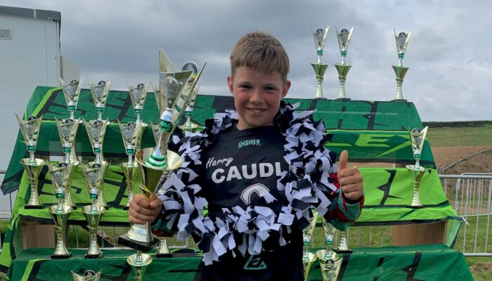 Harry Caudle Y8 Motocross Success - Pittville School