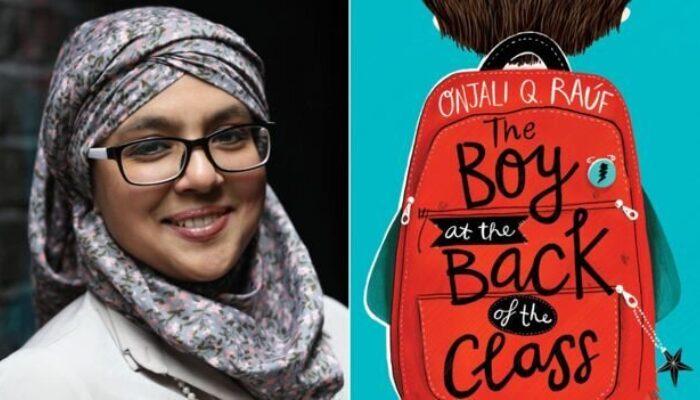 Children's author and activist Onjali Q Rauf visited Pittville school - Pittville School