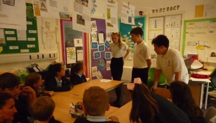 Year 9 Spanish Workshop at Oakwood - Pittville School