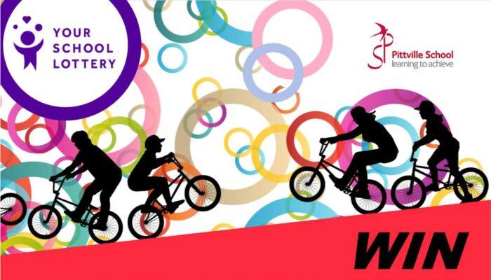 Your School Lottery - Win a £500 Bike Voucher - Pittville School