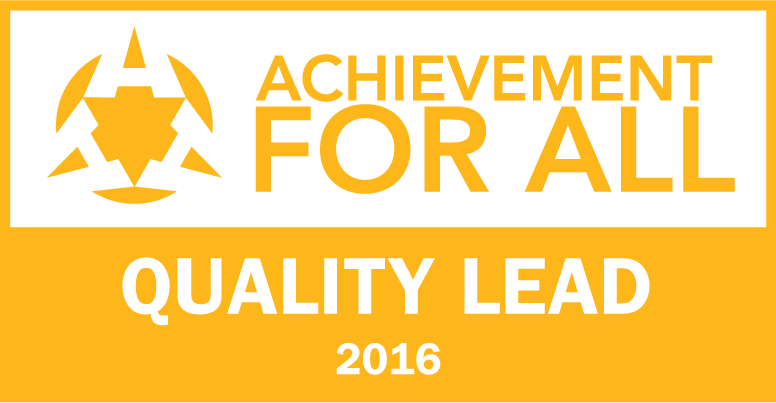 Achievement for All Quality Lead award - Pittville School
